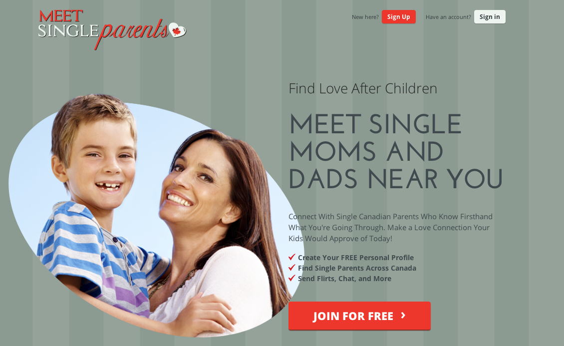 Free online dating sites single parents